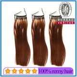 New Single Strand Micro Ring Hair Extensão com Silicone