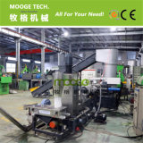 HDPE-LDPE-überschüssige des Plastikfilmes DES PET-pp. granulierende Maschine