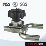 Из нержавеющей стали для пищевой промышленности 3 Way U Тип мембранный клапан (JN-DV1009)