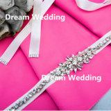 Подгонянный сформированный цветок цвета искрящся пояс кристаллический диаманта Bridal