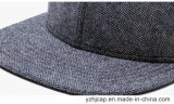 Chapeau promotionnel de Snapback de casquette de baseball de coton fait sur commande de Burshed