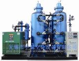 Planta de produção industrial do nitrogênio