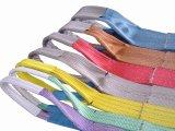 Imbracatura di nylon dell'estremità del poliestere, cinghia di sicurezza, imbracatura di sollevamento, imbracatura della tessitura