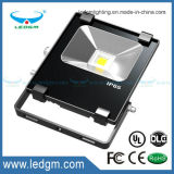 2017 Epistar Chip Casco de alumínio fundido 10W LED Flood Light IP65 COB / SMD Projector Flood Light