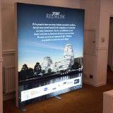 Tessuto di alluminio su ordine che fa pubblicità al tessuto Frameless Seg Lightbox della casella chiara
