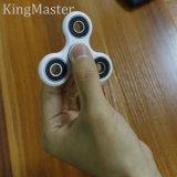 Rouleau en acier inoxydable à grande vitesse Fidget Spinner Triangle Jouet à spin-doigt pour angoisse Réducteur de stress autistique Adultes Enfants