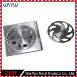 Drain d'étage personnalisé par pièces dessiné profond d'acier inoxydable en métal (WW-DD003)