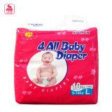del pañal seco de la promoción y cómodo fino estupendo del bebé del pañal del paño