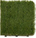 Новая плитка травы лужайки сада конструкции DIY Interlcoking синтетическая