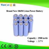 Diep van de Cyclus van de Macht 3.7V 2500mAh Lithium Van uitstekende kwaliteit 18650 van de Batterij Batterij