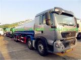 Caminhão de tanque de alumínio do petróleo de HOWO T5g 8X4 para a venda