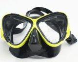 Mascherina adulta di nuoto di immersione subacquea del silicone