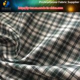 Poliéster Cation Check Tejido de revestimiento, Jacquard Lining for Coat