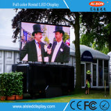 Indicador video do diodo emissor de luz do arrendamento ao ar livre do elevado desempenho P4.81 para o concerto