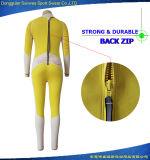 주문을 받아서 만들어진 여자 내오프렌 방수 뒤 Zip Bodysuit 잠수 잠수용 고무옷