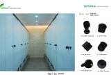 Black Nylon Toilet Cloges Fittings Hardware