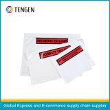 Kundenspezifischer Drucken-Verpackungs-Listen-Umschlag ohne Reißverschluss-Verschluss