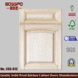 新製品の白いペンキの木の食器棚の振動ドア(GSP5-005)