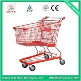 Carrinho de compras de supermercado de metal aprovado pela CE (JT-E01)