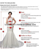 New Arrival A-Line sem mangas Tulle Lace Appliques Wedding Dress 2017