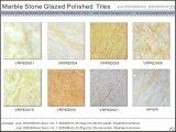 Мраморный застекленная камнем Polished плитка пола фарфора (VRP6D042, 600X600mm)