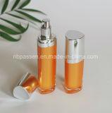 померанцовая акриловая косметическая бутылка 15/50ml с насосом лосьона (PPC-NEW-095)