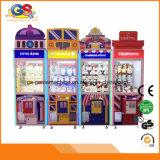 Belle machine bon marché de jeu de grue de jouet de poupée de cadeau d'arcade pour l'OEM à jetons de gosses