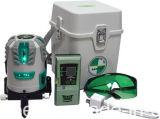 Hoge Precisie zelf-Nivelleert Multi-Line Navulbare Groene Niveau van de Laser