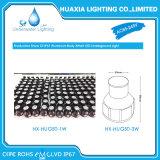 100-240 ВПТ люминер 1 ватта в свете алюминиевого тела светильника подземном