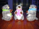 Giocattolo della peluche della marmotta farcito abitudine