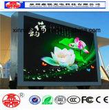 Alta tablilla de anuncios de LED de la definición P10 de la pantalla al aire libre