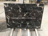 Lastra d'argento cinese del marmo del nero del drago