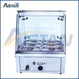 Eh710 bufete elétrico Bain Marie para o restaurante/a fábrica do aquecedor de alimento aço inoxidável do bufete/aquecedor de alimento Heated do prato de aquecimento por atrito