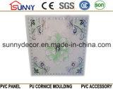 Het plastic Plafond van pvc van het Comité van het Plafond van de Decoratie van de Douche betegelt 595*595*7mm