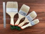 Щетка краски ручки русского рынка деревянная с материалом щетинки