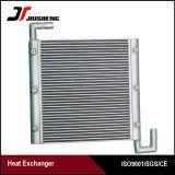 Refrigerador de petróleo de alumínio profissional da máquina escavadora da placa da barra