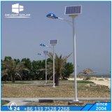 二重アーム3バックアップ雨の日の電池によって埋められる太陽ランプ