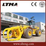 Lader 15 van het Wiel van Ltma de Lader van de Ton ATV met Logboek grijpt vast