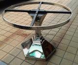 なされたステンレス鋼12のための円形の食堂テーブル
