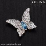 32899 Tegenhanger van de Vlinder van de manier Rhodium Geplateerde met Kristallen van Juwelen Swarovski