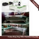 Самомоднейшая офисная мебель HX-5DE528 l прокатанный меламином стол офиса формы