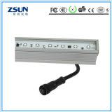 Luz linear 1200m m 18W del LED que amortigua la luz colgante del sensor