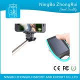 2016 개인적인 디자인 이중 USB 비용을 부과 포트를 가진 방수 Selfie 지팡이 태양 에너지 은행 7000mAh