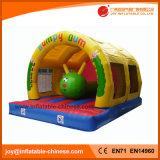 Aufblasbarer springender federnd Schloss-Gleiskettenfahrzeug-Prahler für Kinder (T1-714)
