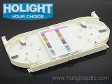 12 cassettes ópticos del empalme de la fibra portuaria y 24 portuaria