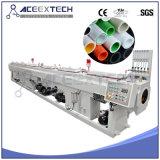 máquina del tubo del HDPE del abastecimiento de agua de 20-63m m