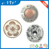 Hot Sale Good Quality Alloy Jeans Button com cristal