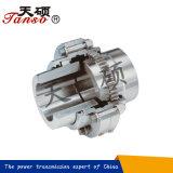 Acoplador de eje rígido del engranaje de acero de China Tanso para las mercancías generales