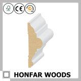 A melhor madeira de venda que molda no contorno
