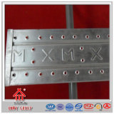 직류 전기를 통한 금속 Steelplank 또는 좁은 통로 또는 사다리는의 빠르 소집한다